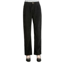 Zenim Sueded Cotton Pants - Five Pocket (For Women) in Black - Closeouts
