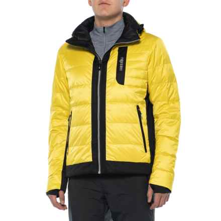 Zero Freedom Down Ski Jacket - Waterproof (For Men) in Light Yellow - Closeouts
