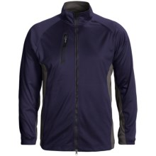 Zero Restriction Airflow Color-Block Jacket (For Men) in Deep Space/Battleship Grey - Closeouts
