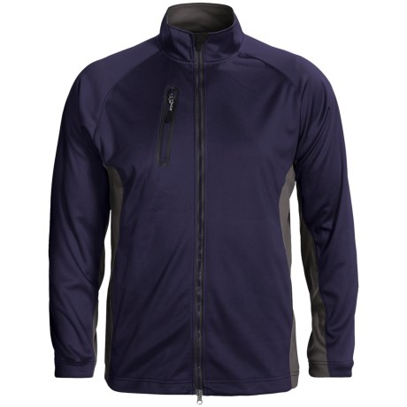 Zero Restriction Airflow Color-Block Jacket (For Men) in Deep Space/Battleship Grey