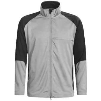 Zero Restriction Airflow Color-Block Jacket (For Men) in Steel/Black