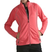 Zero Restriction Airflow Jacket - Soft Shell (For Women) in Coral - Closeouts