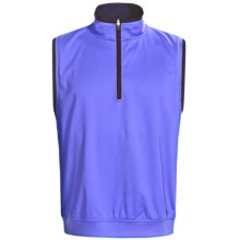 Zero Restriction Airflow Vest - Zip Neck (For Men) in Neptune Blue/Deep Space - Closeouts
