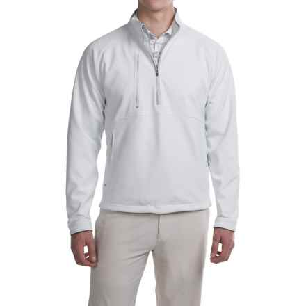 Zero Restriction Chambers Bay Windstopper® Pullover Shirt - Zip Neck, Long Sleeve (For Men) in White/Metallic Silver - Closeouts
