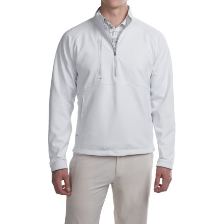 Zero Restriction Chambers Bay Windstopper(R) Pullover Shirt Zip Neck, Long Sleeve (For Men)