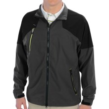Zero Restriction Covert Wind Jacket (For Men) in Graphite - Closeouts