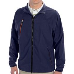 Zero Restriction Covert Wind Jacket (For Men) in Navy