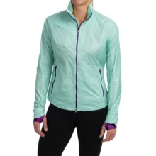 Zero Restriction Darcy Wind Jacket (For Women) in Oasis - Closeouts