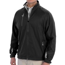 Zero Restriction Eight Jacket - Waterproof (For Men) in Black/Metallic Silver - Closeouts