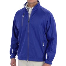 Zero Restriction Eight Jacket - Waterproof (For Men) in Bright Royal/White - Closeouts