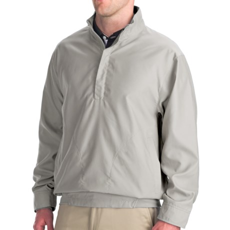 Zero Restriction Galway Windshirt (For Men) in Stone
