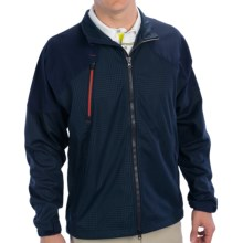 Zero Restriction Glen Covert Jacket (For Men) in Navy Plaid - Closeouts