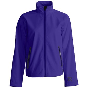 Zero Restriction Highland Jacket - Soft Shell (For Women) in Blueberry