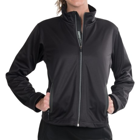 Zero Restriction Highland Soft Shell Jacket (For Women) in Black
