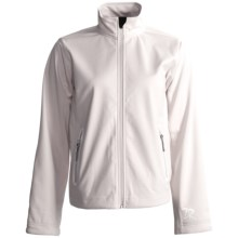 Zero Restriction Highland Soft Shell Jacket (For Women) in Cream - 2nds