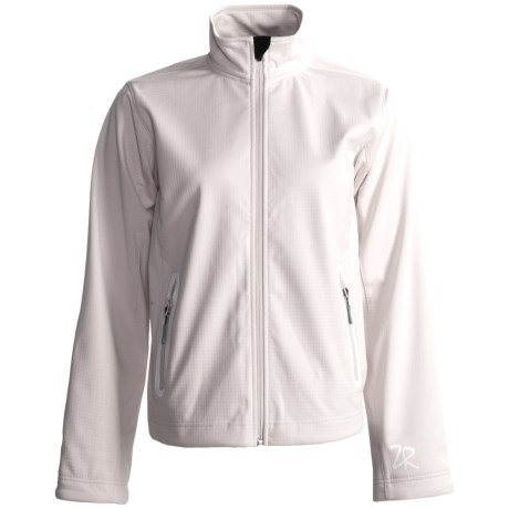 Zero Restriction Highland Soft Shell Jacket (For Women) in Cream