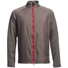Zero Restriction Hybrid Medalist Jacket (For Men) in Battleship Grey/Mars Red - Closeouts