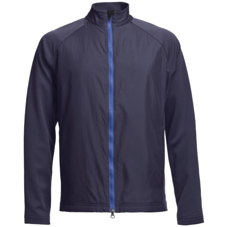 Zero Restriction Hybrid Medalist Jacket (For Men) in Deep Space/Neptune Blue