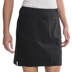 Zero Restriction Kate Stretch Tech Skort (For Women) in Black