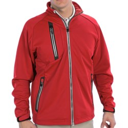 Zero Restriction Knollwood Windstopper® Jacket (For Men) in Mars Red