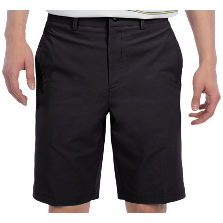 Zero Restriction Links Tech Shorts (For Men) in Taupe
