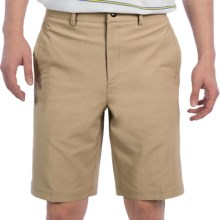 Zero Restriction Links Tech Shorts (For Men) in Taupe - Closeouts