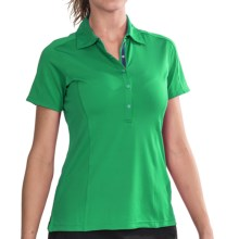 Zero Restriction Mia Polo Shirt - Short Sleeve (For Women) in Palm - 2nds