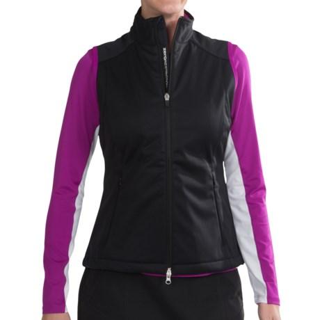 Zero Restriction Nadia Vest - Windproof (For Women) in Black