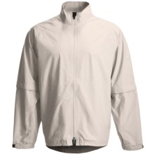 Zero Restriction Packable Jacket - Waterproof, Convertible (For Men) in Stone - Closeouts