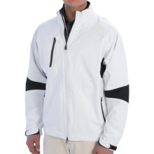 Zero Restriction Pinnacle Rain Jacket - Waterproof, Full Zip (For Men) in White/Black - Closeouts