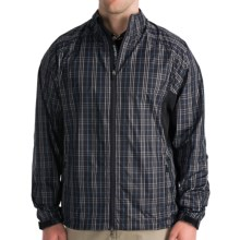 Zero Restriction Plaid Windshirt (For Men) in Black - Closeouts