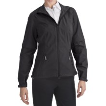 Zero Restriction Pleated Packable Jacket (For Women) in Black - Closeouts