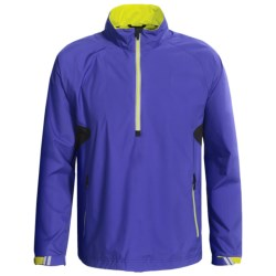 Zero Restriction Power Torque Pullover - Waterproof, Zip Neck, Long Sleeve (For Men) in Ribbon