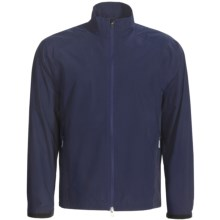 Zero Restriction Printed Packable Jacket - Waterproof (For Men) in Navy - Closeouts