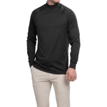 Zero Restriction Z400 Mock Neck Shirt - Long Sleeve (For Men) in Black - Closeouts
