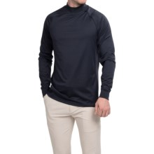 Zero Restriction Z400 Mock Neck Shirt - Long Sleeve (For Men) in Navy - Closeouts