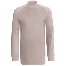 Zero Restriction Z400 Mock Shirt - Long Sleeve (For Men) in Platinum - Closeouts