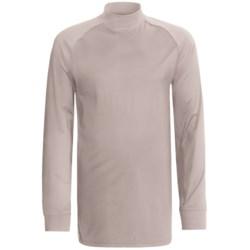 Zero Restriction Z400 Mock Shirt - Long Sleeve (For Men) in Platinum