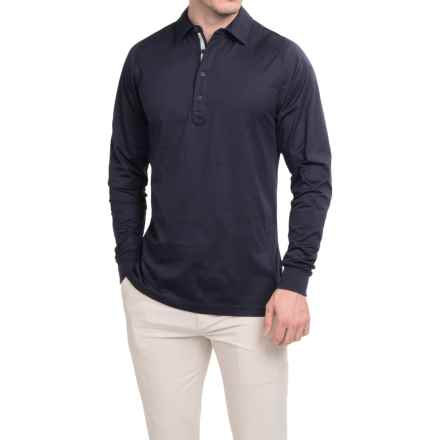 Zero Restriction Z400 Polo Shirt - Long Sleeve (For Men) in Deep Space - Closeouts