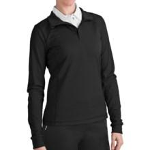 Zero Restriction Z400 Zip Mock Shirt - Long Sleeve (For Women) in Black - 2nds