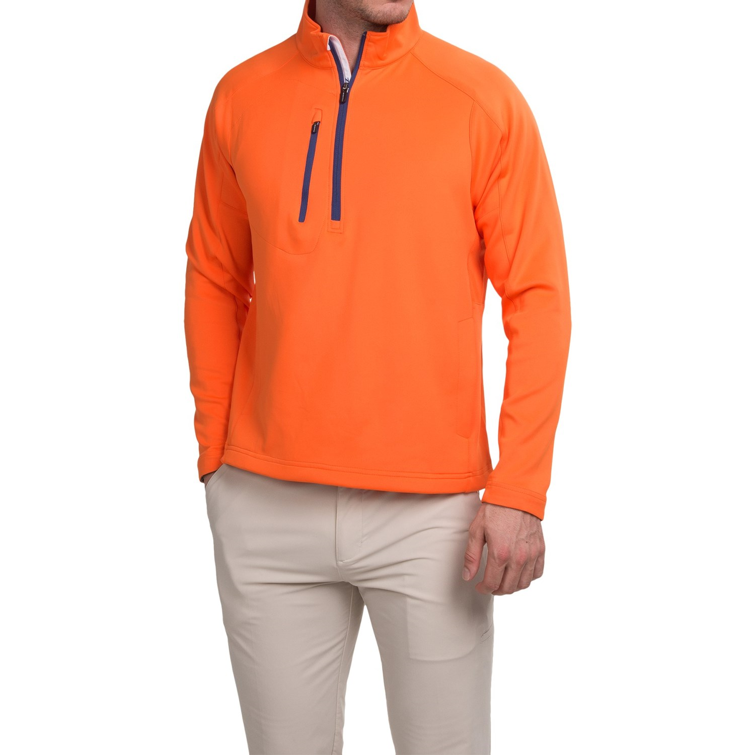 Zero restriction z500 pullover shirt for men save 55 for Mens long sleeve pullover shirts