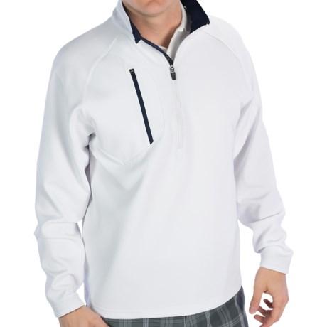 Zero Restriction Z500 Pullover - Zip Neck, Long Sleeve (For Men) in White