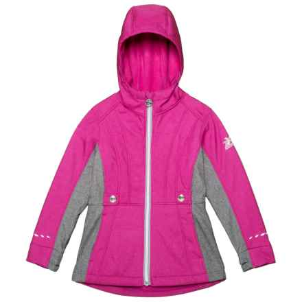 ZeroXposur Adrina Soft Shell Jacket (For Little Girls) in Rapture - Closeouts