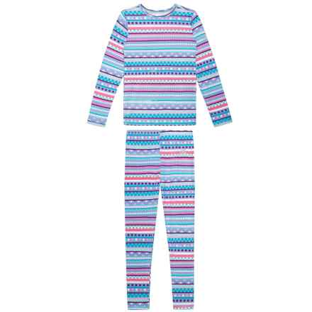 63e5068b0 ZeroXposur Base Layer Top and Pants Set - Long Sleeve (For Big Girls) in
