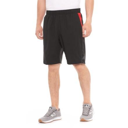 2b215b5d7a ZeroXposur Black Fusion Gym to Swim Stretch Shorts - UPF 50+, Built-In