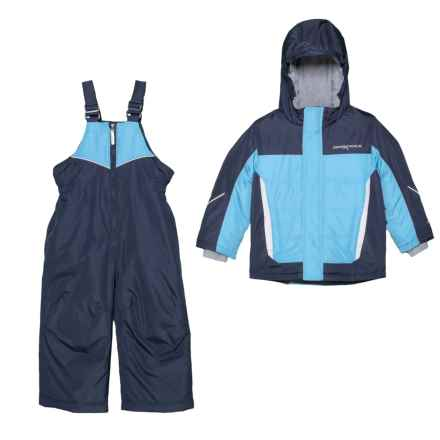 ZeroXposur Bryce Jacket and Snow Bibs Set - Insulated (For Toddler Boys) in Squall - Closeouts