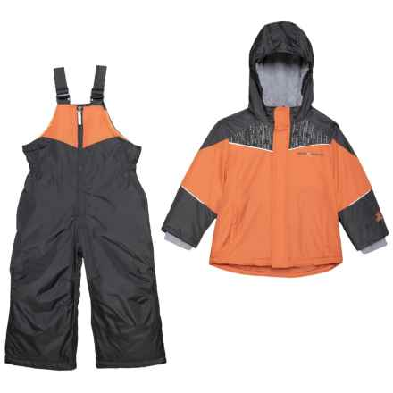 ZeroXposur Carter Two-Piece Snowsuit Set - Insulated (For Toddler Boys) in Zinnia - Closeouts