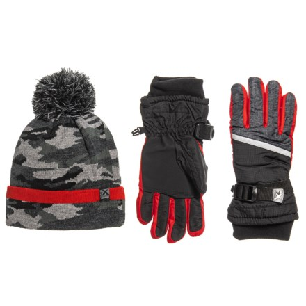 4bab88a7 ZeroXposur Commander Knit Winter Set - Insulated (For Big Boys) in Black/Red