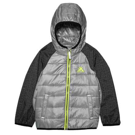 ZeroXposur Deacon Transitional Jacket - Insulated (For Toddler Boys) in Sterling - Closeouts
