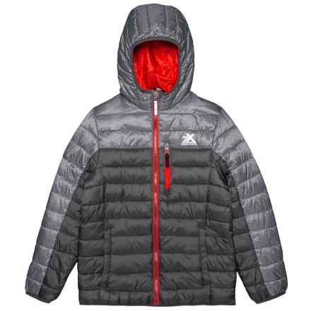ZeroXposur Down-Touch Ultra Jacket - Insulated (For Big Boys) in Slate - Closeouts